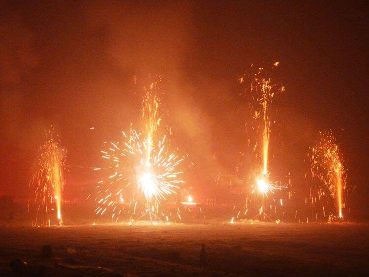 Leise Feuerwerke